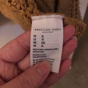 American Eagle Outfitters Sweaters - Beautiful Burnt Orange American Eagle Cardigan